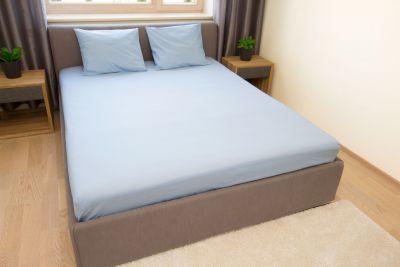 Puuvilla aluslina Sinine 150x220 cm