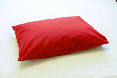 Puuvilla padjapüür Bordoo punane 50x60