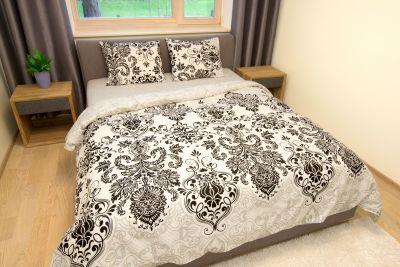 Puuvilla voodipesu komplekt Luxury 220x210 +50x60