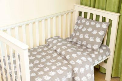 Laste voodipesu 110x145 UHUU GR