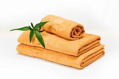 DOSSA Bambusrätikute komplekt kollane